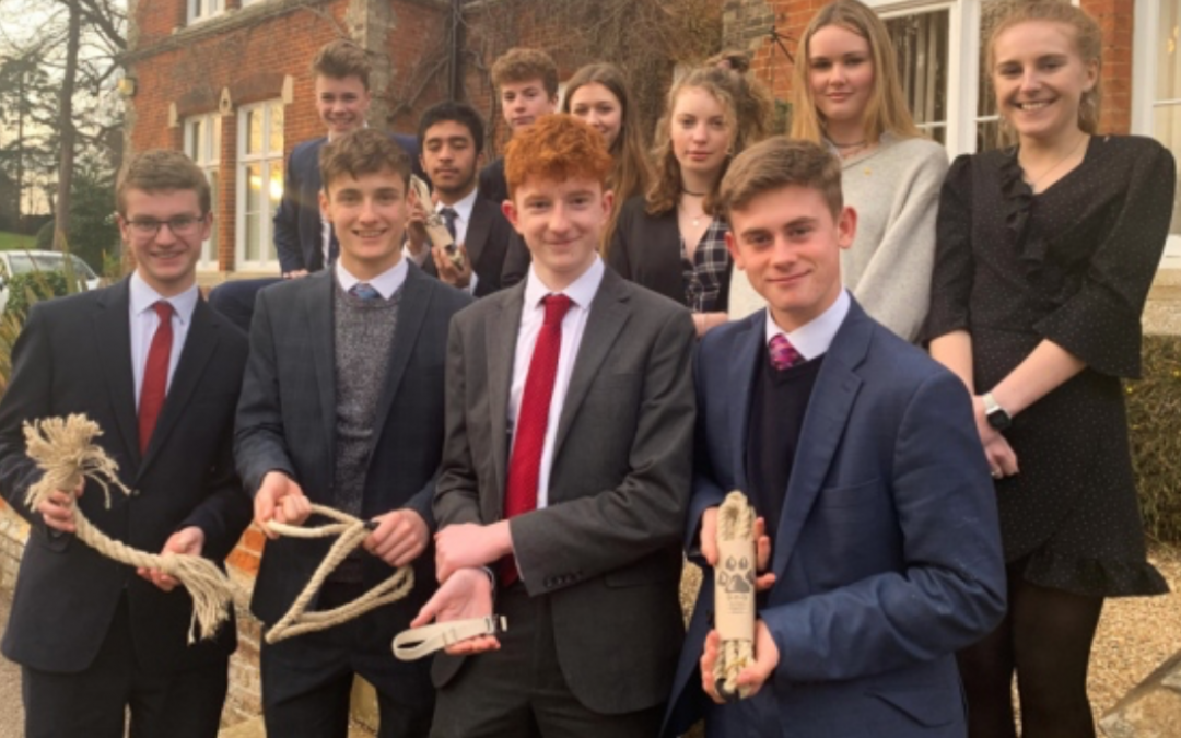 Suffolk business students pave the way for plastic free dog products